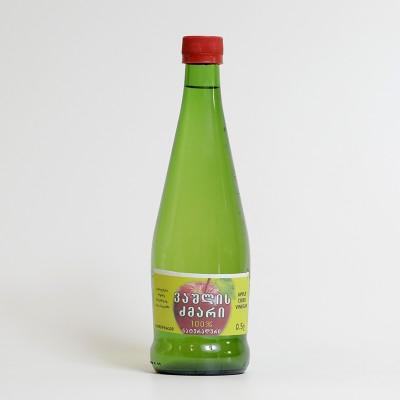 """""""ელკანა"""" ვაშლის ძმარი (0,5ლ)"""