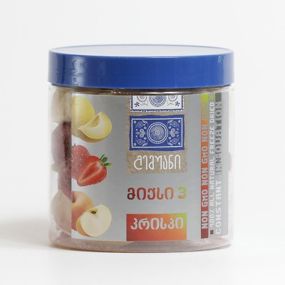 """""""გემუანი"""" სუბლიმირებული ხილი- მიქს 3 - 30გრ."""