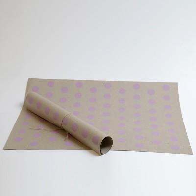 """""""მწვანე საჩუქარი"""" საჩუქრების შესაფუთი ქაღალდი A2 ფორმატი,ბრენდირებული"""