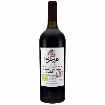 არტევანი: ბიო ღვინო წითელი მშრალი