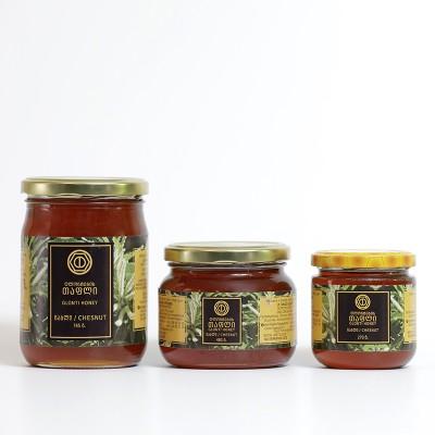 """""""ღლონტების თაფლი"""" წაბლის თაფლი (745 გრ)"""