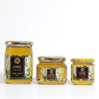 """""""ღლონტების თაფლი"""" აკაციის თაფლი (270 გრ)"""